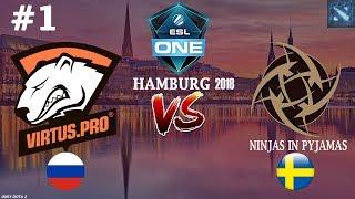 Virtus.Pro vs NIP #1 (BO2) | ESL One Hamburg 2018