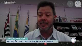 Lençóis Paulista tem queda de casos do novo coronvírus após lockdown