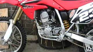 3. 08 HONDA CRF 150 FOR SALE