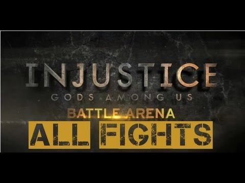 Injustice: Battle Arena - All Fights Leading Up To Superman vs. Batman