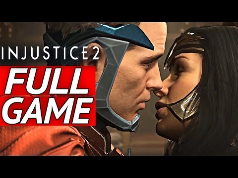 INJUSTICE 2 Gameplay Walkthrough Part 1 FULL STORY MODE ENDING - No Commentary [1080p HD PS4] (видео)