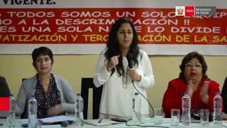 Ministra de Salud se reunió con federaciones de médicos y trabajadores del sector Salud