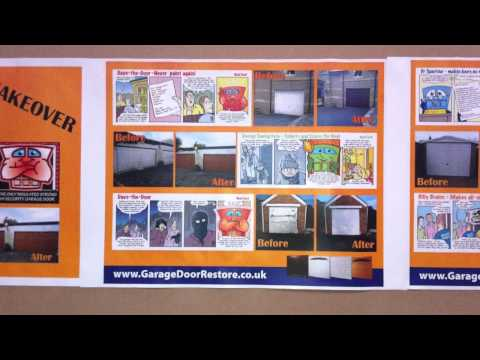 Fresh Fronts by Garage Door Restore MAGIC MAKE OVER BLOCKS IN A BOX.mov