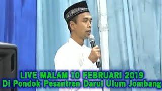 Video LIVE UAS MALAM HARI INI 10 FEBRUARI 2019! Ustadz Abdul Somad di Pondok Pesantren Darul Ulum Jombang MP3, 3GP, MP4, WEBM, AVI, FLV April 2019