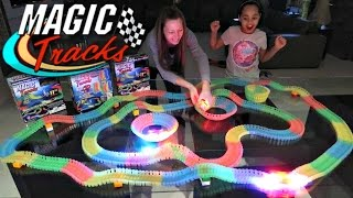 Crazy Car Magic Tracks Toy Challenge Games - They Glow In The Dark | Famtastic