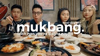 Video MUKBANG Korean BBQ w/ Han Yoo Ra & Kyra Nayda - FLOG#10 MP3, 3GP, MP4, WEBM, AVI, FLV April 2019