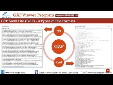 Zenflex Malaysia GST GAF Viewer - Lite Edition
