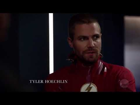 Olicity 7.09 - Part 1 Felicity Finds Out Oliver & Barry Were Swapped