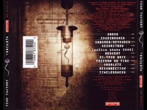 Fear Factory - Edgecrusher // Lyrics (видео)