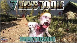 "7 Days to Die has redefined the survival genre, with unrivaled crafting and world-building content. Set in a brutally unforgiving post-apocalyptic world overrun by the undead, 7 Days to Die is an open-world game that is a unique combination of first person shooter, survival horror, tower defense, and role-playing games. It presents combat, crafting, looting, mining, exploration, and character growth, in a way that has seen a rapturous response from fans worldwide. Play the definitive zombie survival sandbox RPG that came first. Navezgane awaits!Please like, comment and subscribe.  Thanks for stopping by!My giveaway group on Steam is below:http://steamcommunity.com/groups/jimmythesaint/ Join the group to be able to enter game giveaways.Join me here:https://www.facebook.com/jimmythasainthttps://twitter.com/J1mmythesainthttp://steamcommunity.com/profiles/76561198044339341/http://steamcommunity.com/groups/jimmythesaintIntro music is cut from ""Hero Theme"" by MK2Outro music is cut from ""Bomber"" by Riot"