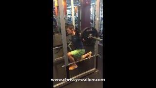 VIDEO: Heavy Leg Reverse & Split Lunges