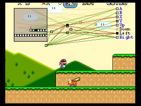 This youtuber used an algorithim to allow Mario to learn to play Super Mario World flawlessly by himself.