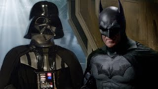 VIDEO: 'BATMAN vs DARTH VADER' Super Power Beat Down – Original + Alternate Ending