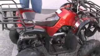 7. COOLSTER 125CC KIDS ATV UTILITY QUAD