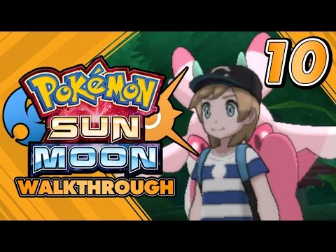 Pokémon Sun And Moon Walkthrough - Part 10: FOURTH TRIAL AT LUSH JUNGLE AND TOTEM LURANTIS!