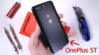 Video OnePlus 5T Durability Test! Scratch and Bend tested! MP3, 3GP, MP4, WEBM, AVI, FLV November 2017