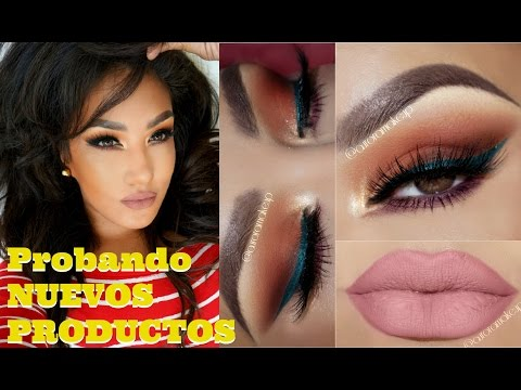 Maquillaje con PRODUCTOS NUEVOS / Makeup with NEW products haul | auroramakeup