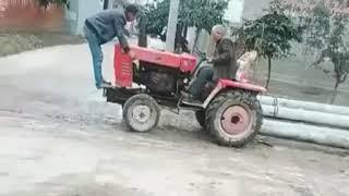 Wstawaj Tadek nie udawaj. Czyli dwóch mistrzów jazdy traktorem