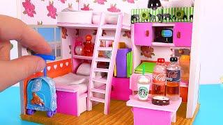 DIY Dollhouse Girl Room [NOT a Kit]