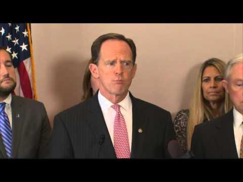 Sen. Toomey Speaks on Thin Blue Line Act