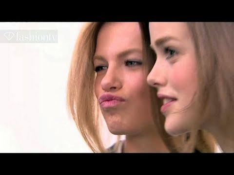 MODEL TALKS - http://youtube/FashionTV WORLD - The vibrant Hailey Clauson offers a kiss to FTV for this edition of , as she gets heavy dramatic eyes backstage at the Dsqua...