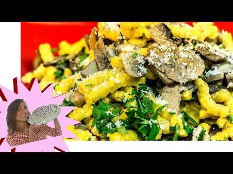 ricetta-passatelli con il sugo ai funghi!