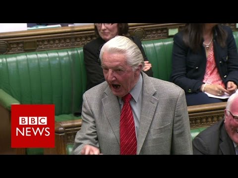 "Dennis Skinner Kicked Out Of Commons For Calling David Cameron ""dodgy Dave"" - Bbc News"