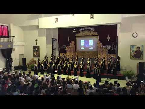 Gita Assisi Choir - Sanctus (Arr. Roni Sugiarto dan Swingly)