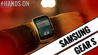 Watch our hands-on video with the Samsung Gear S smart watch... Intro Track: Case & Point - Prism [Monstercat]