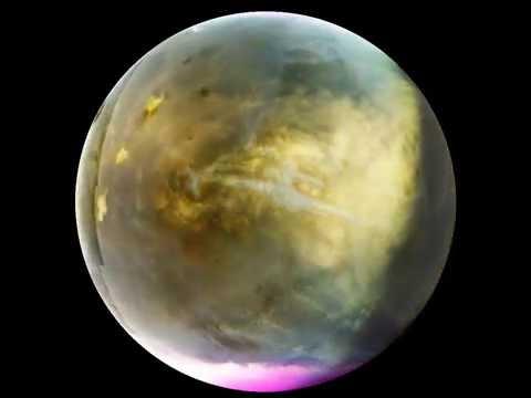 MAVEN ultraviolet imager views Martian clouds forming