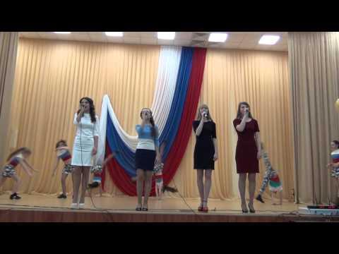"""Вперёд, Россия"" ...песня+танец 06.05.2016"
