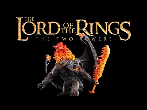 LOTR: The Two Towers (Gandalf - GBA) - A Balrog of Morgoth! (2)