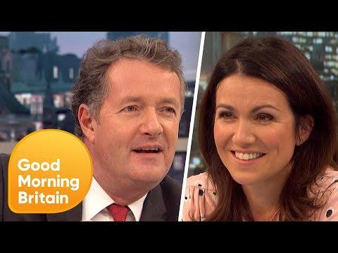 Piers Morgan and Susanna Reid Discover Their DNA Origins | Good Morning Britain