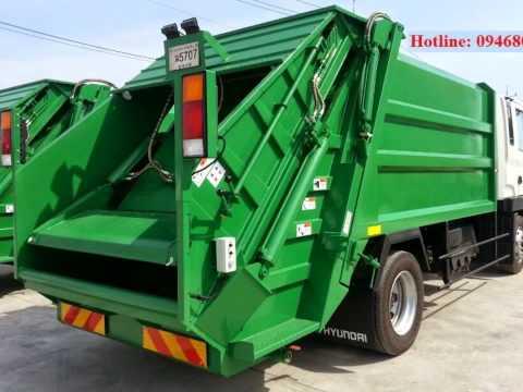 Bán xe ép rác 5,6,9,12,14,20,22 khối hino,hyundai,dongfeng,camc