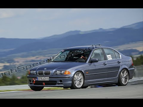 BMW E46 328i Trackday Bilster Berg | Drifts & Highlights