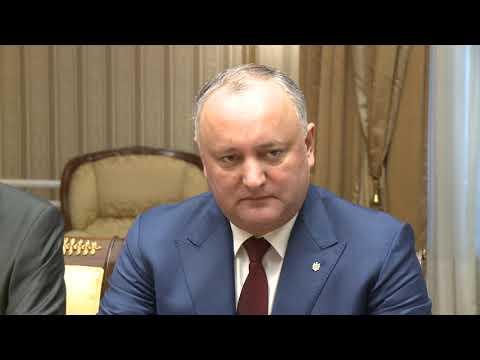 Глава государства провел встречу с делегацией Сената Польской Республики, которая находиться в Республике Молдова с официальным визитом