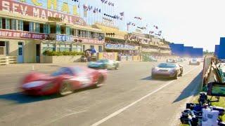 爆音!轟音!本気すぎる大迫力!映画『フォードvsフェラーリ』レースシーン メイキング映像1