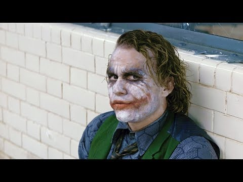 Joker escapes \ Batman saves Dent | The Dark Knight [4k, HDR]