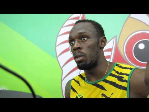 Video: Beijing 2015: Usain Bolt confronts journalist on 'Gatlin made a mistake comment'
