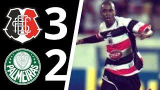 Vitória do tricolor pernambucano sobre o Palmeiras.