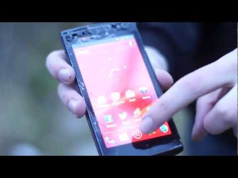 4500 - Brutal tests of the Prestigio MultiPhone 4500 DUO display - http://smartphone.bg.
