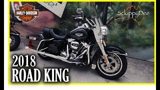 5. 2018 Harley Davidson Road King Test Ride