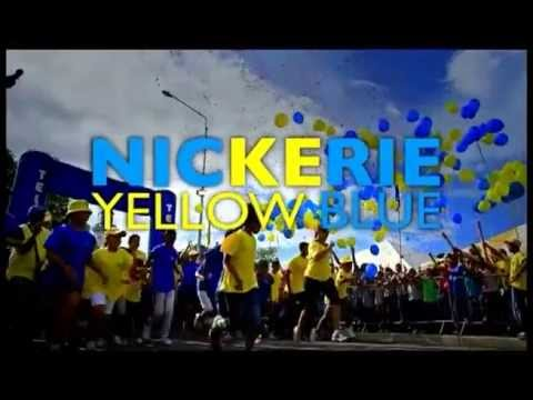 Telesur Spot Yellow and Blue Party in Nickerie