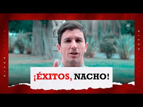Nacho Fernández se despide de los hinchas de River