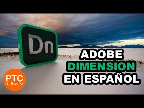 Tutorial de Adobe DIMENSION CC en Español – Aprende a usar Adobe Dimension CC – Curso INTENSIVO