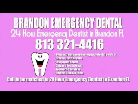 24 Hour Emergency Dental Care Brandon, FL - (813) 321-4416