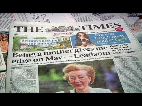 Μ.Βρετανία: Μέι και Λίντσομ στην κούρσα για την διαδοχή Κάμερον