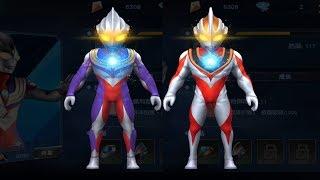 Video Sieu nhan game play | Ultraman Heroes Recall #5 | Nâng cấp Ultraman Tiga và Ultraman Gaia MP3, 3GP, MP4, WEBM, AVI, FLV Mei 2018