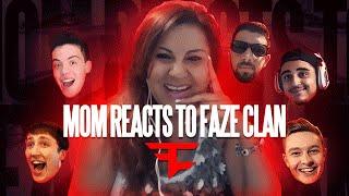 MY MOM REACTS TO FAZECLAN!! | FaZe Rug