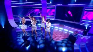 Watch: The Saturdays perform 'What Are You Waiting For?' on National Lottery